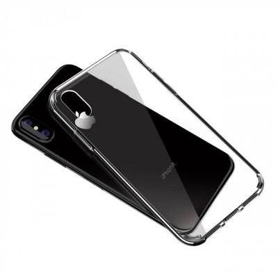 کاور راک مدل pure مناسب برای گوشی موبایل آیفون X (خاکستری)