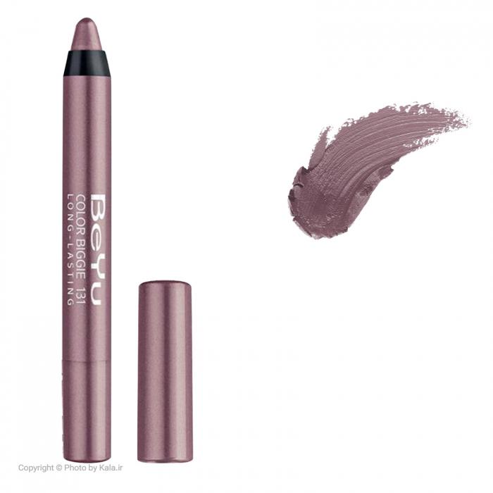 رژ لب مدادی 2 کاره بی یو مدل Color Biggie for Lip and More شماره 131