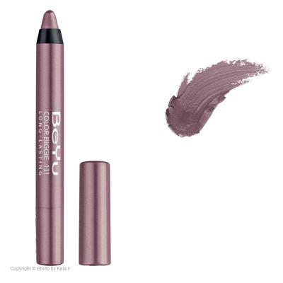 رژ لب مدادی 2 کاره بی یو مدل Color Biggie for Lip and More شماره 131 (صورتی تیره)