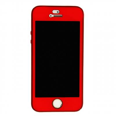 کاور گوشی ورسون مدل 360 درجه مناسب برای گوشی آیفون SE/5/5S (قرمز)
