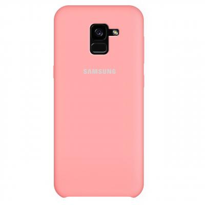 کاور سیلیکونی مناسب برای گوشی موبایل سامسونگ Galaxy A8 Plus 2018 (بنفش)
