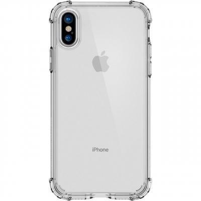 کاور اسپیگن مدل Crystal Shell مناسب برای گوشی موبایل آیفون X