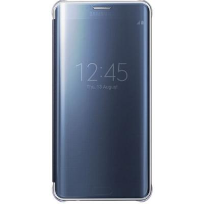 کیف کلاسوری سامسونگ مدل Clear View مناسب برای گوشی موبایل گلکسی S6 Edge Plus (طلایی)