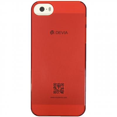 کاور دویا مدل Frosted مناسب برای گوشی موبایل اپل آیفون SE/5/5s (بنفش روشن)