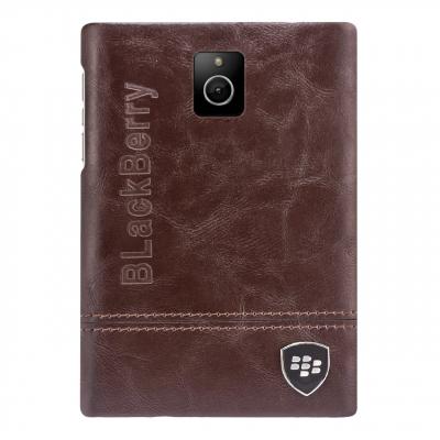 کاور  چرمی بلک بری مناسب برای گوشی موبایل بلک بری Passport (مشکی)