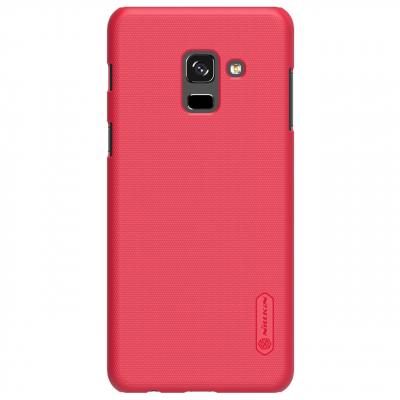 کاور نیلکین مدل Super Frosted Shield مناسب برای گوشی موبایل سامسونگ Galaxy A8 Plus 2018 (مشکی)
