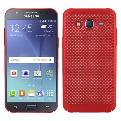 کاور مدل هاردمش مناسب برای گوشی موبایل سامسونگ Galaxy J7 Core (قرمز)