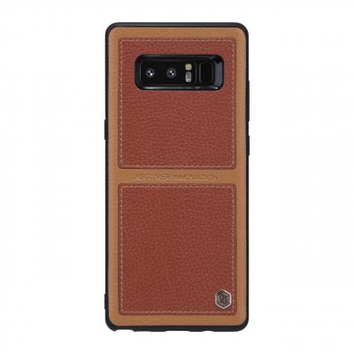 کاور چرمی نیلکین مدل BURT مناسب برای گوشی موبایل سامسونگ Galaxy Note8