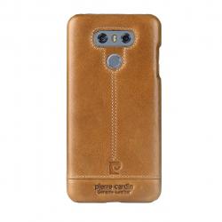 کاور چرمی پیرکاردین مدل PCL-P03 مناسب برای گوشی الجی G6