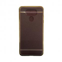 کاور ژله ای طرح چرم مدل leather مناسب برای گوشی موبایل LG G6
