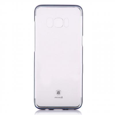 کاور بیسوس مدل Glitter Case مناسب برای گوشی موبایل سامسونگ گلکسی S8 Plus (مشکی)