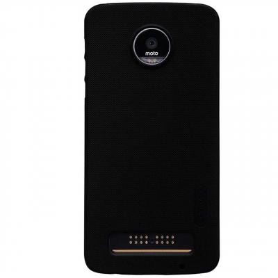 کاور نیلکین مدل Frosted Shield مناسب برای گوشی موبایل موتورولا Moto Z Play (مشکی)