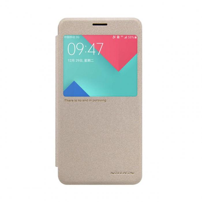 کیف کلاسوری نیلکین مدل New Leather Sparkle مناسب برای گوشی موبایل سامسونگ Galaxy A7 2016