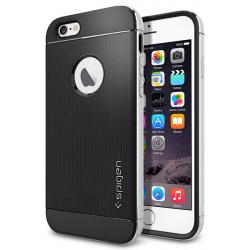 کاور اسپیگن مدل Neo Hybrid Metal مناسب برای گوشی موبایل اپل آیفون 6 پلاس/6s پلاس