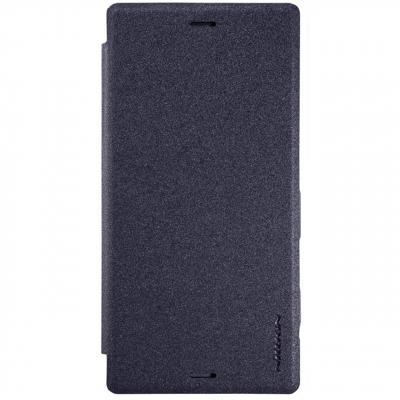 کیف کلاسوری نیلکین مدل New Leather Sparkle مناسب برای گوشی موبایل سونی Xperia XZ (طلایی)