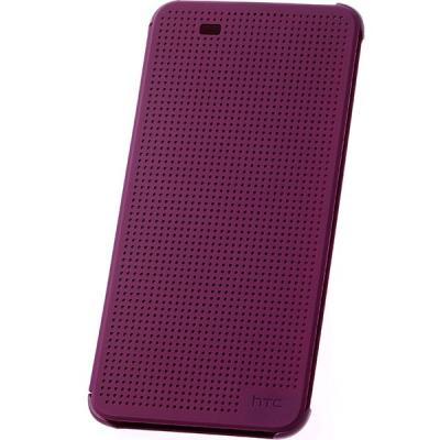 کیف کلاسوری اچ تی سی مدل دات ویو استاندارد مناسب برای گوشی اچ تی سی دیزایر 820 (طلایی)