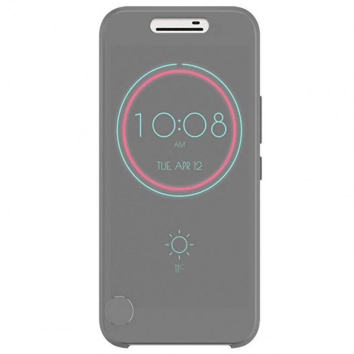 کیف کلاسوری مدل Dot View Ice مناسب برای گوشی موبایل اچ تی سی One M10