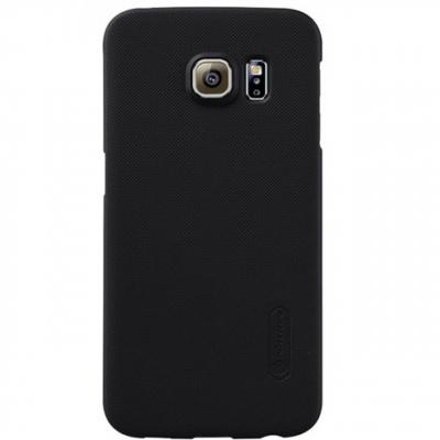 کاور نیلکین مدل Super Frosted Shield مناسب برای گوشی موبایل سامسونگ Galaxy S6 Edge (طلایی)