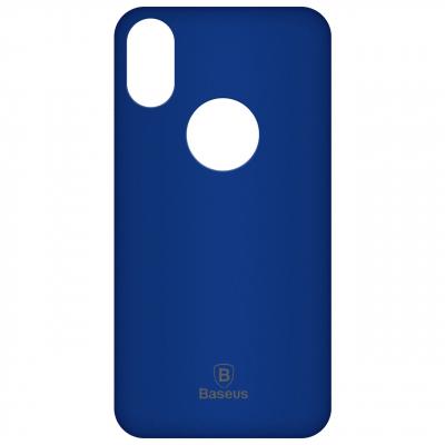 کاور ژله ای باسئوس مدل Soft Jelly مناسب برای گوشی موبایل اپل آیفون X (مشکی)