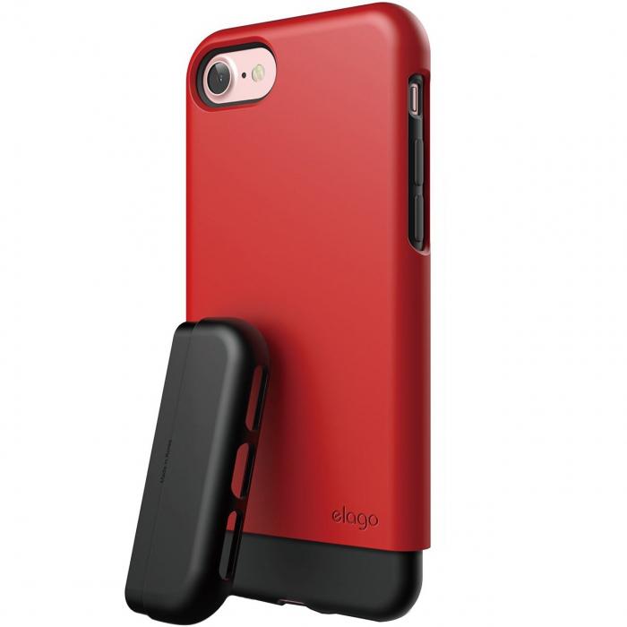 کاور الاگو مدل S7 Glide Black مناسب برای گوشی موبایل آیفون 7