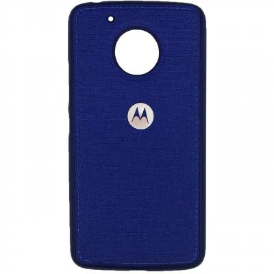 کاور ژله ای طرح پارچه مناسب برای گوشی موبایل موتورولا Moto G5 (طلایی)