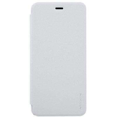 کیف کلاسوری نیلکین مدل New Leather Sparkle مناسب برای گوشی موبایل Asus Zenfone 3Max ZC520 (خاکستری)