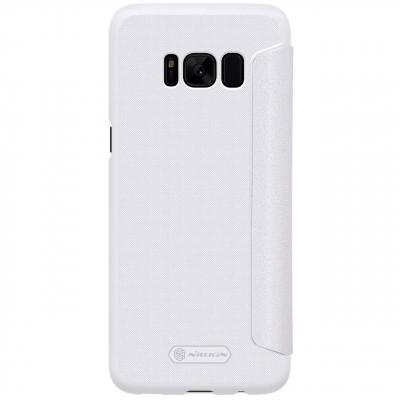 کیف کلاسوری نیلکین مدل New Leather Sparkle مناسب برای گوشی موبایل سامسونگ Galaxy S8 (طلایی)