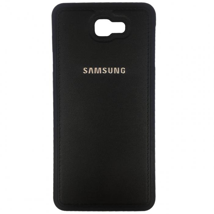 کاور ژله ای طرح چرم مدل مناسب برای گوشی موبایل سامسونگ Galaxy J7 Prime