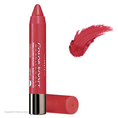 رژ لب مدادی بورژوآ مدل Color Boost شماره 08 (مسی)