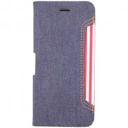 کیف کلاسوری موزو مدل Denim مناسب برای گوشی موبایل آیفون 6/6s