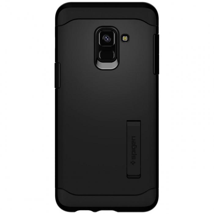 کاور اسپیگن مدل Slim Armor مناسب برای گوشی موبایل سامسونگ Galaxy A8 2018