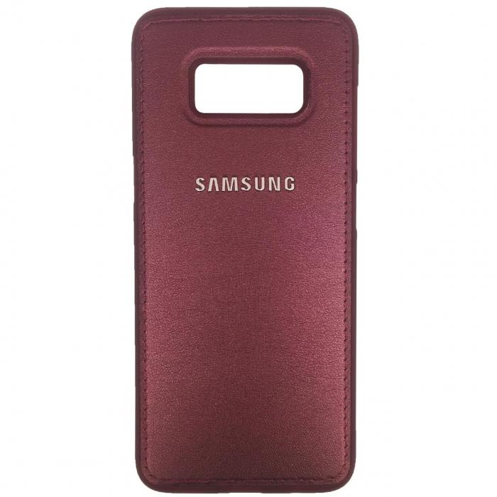 کاور ژله ای طرح چرم مناسب برای گوشی موبایل سامسونگ Galaxy S8