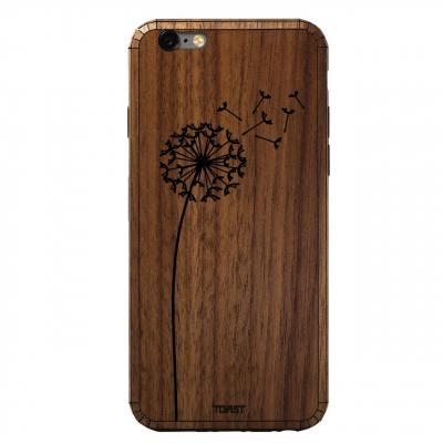 کاور چوبی تست مدل Dandelion مناسب برای گوشی های موبایل آیفون 6/6s (قهوه ای)