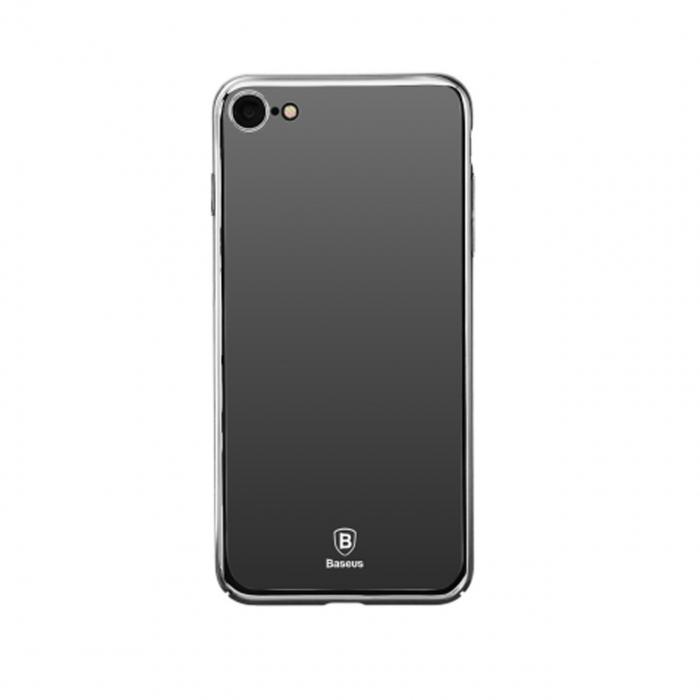 کاور باسئوس مدل Super Slim Glass Case مناسب برای گوشی موبایل آیفون 7