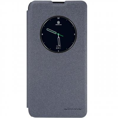 کیف کلاسوری نیلکین مدل New Leather Sparkle مناسب برای گوشی موبایل ال جی X Screen (طلایی)