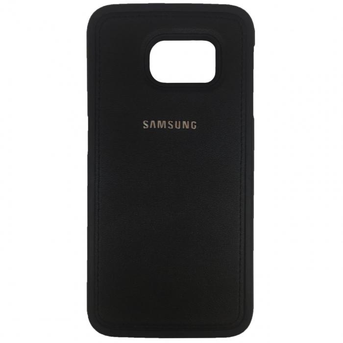 کاور ژله ای طرح چرم مناسب برای گوشی موبایل سامسونگ Galaxy S6 Edge