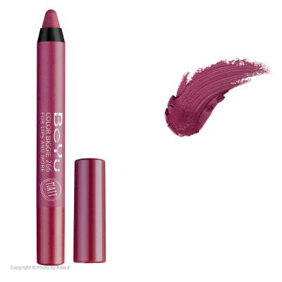 رژ لب مدادی 2 کاره بی یو مدل Color Biggie for Lip and More 266 (سرخابی)