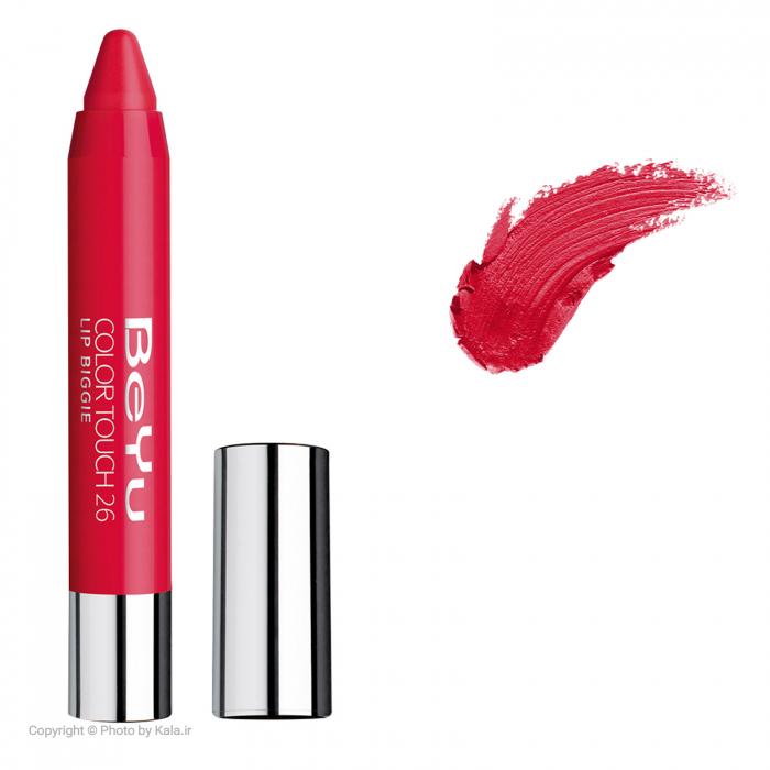 رژ لب جامد بی یو مدل Color Touch Lip Biggie شماره 26