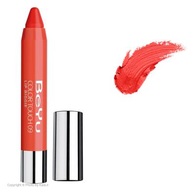 رژ لب جامد بی یو مدل Color Touch Lip Biggie 09 (نارنجی)