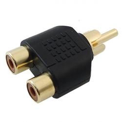 تبدیل یک به دو RCA های گریددایو مدل MA90 مدل HQP کد MA90 (مشکی)