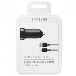شارژر فندکی سامسونگ مدل EP-LN930 همراه با کابل USB-C (مشکی)