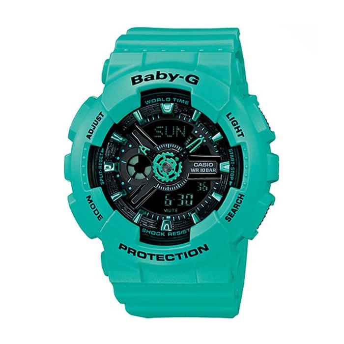 ساعت مچی عقربه ای زنانه کاسیو مدل Baby-G BA-111-3ADR