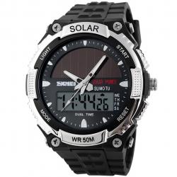 ساعت مچی عقربه ای مردانه اسکمی مدل AD1049E/Silver