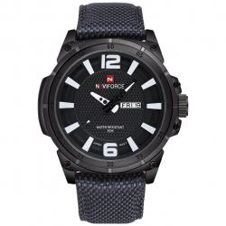 ساعت مچی عقربه ای مردانه نیوی فورس مدل NF9066M/BBW