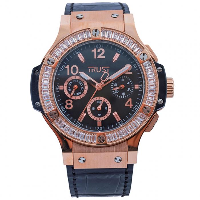 ساعت مچی عقربه ای زنانه تراست مدل L503CVD