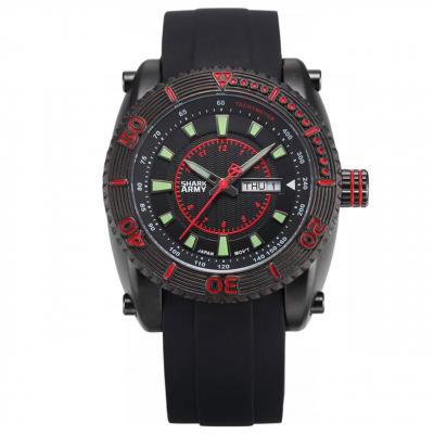 ساعت مچی عقربه ای مردانه شارک آرمی مدل SAW158 (مشکی)