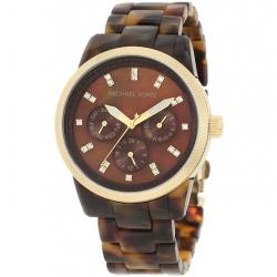 ساعت مچی عقربه ای زنانه مایکل کورس مدل MK5038 (قهوه ای)