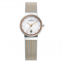 ساعت مچی عقربه ای زنانه اسکاگن مدل 355SSRS