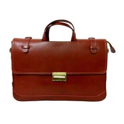 کیف لپ تاپی زانکو چرم (قهوه ای)