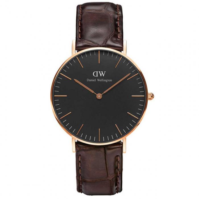 ساعت مچی عقربه ای زنانه دنیل ولینگتون مدل DW00100140